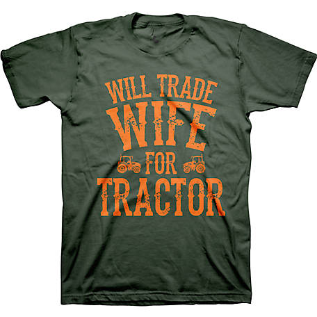 Farm Fed Clothing Men's Short Sleeve Wife Tractor T- Shirt