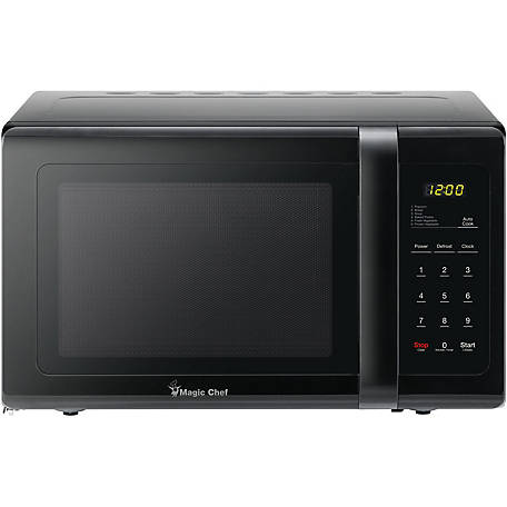 Magic Chef 0.9 CF 900W Countertop Microwave Oven, Black, MCD993B