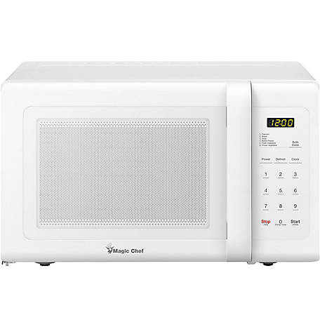 Magic Chef 0.9 CF 900W Countertop Microwave Oven White, MCD993W
