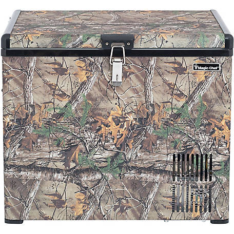 Magic Chef 1.4 CF Portable Freezer Camouflage Pattern, MCL40PFRT