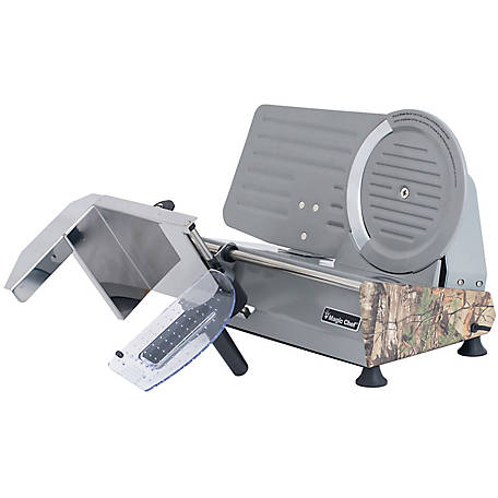 Magic Chef 8.6 Meat Slicer, Camouflage, MCL86MSRT