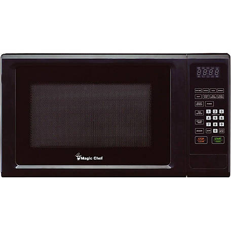Magic Chef 1.1 CF 1000W Countertop Microwave, Black, MCM1110B