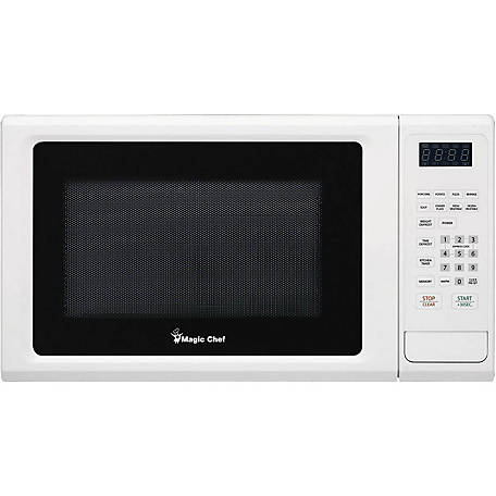 Magic Chef 1.1 CF 1000W Countertop Microwave, White, MCM1110W