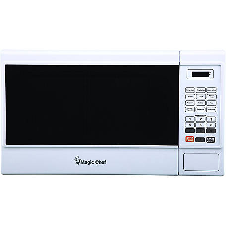 Magic Chef 1.3 CF 1000W Countertop Microwave Oven, White, MCM1310W