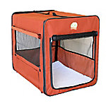 Go Pet Club 32' Brown Soft Dog Crate