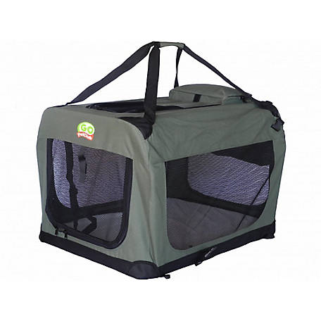 Go Pet Club 28' Dog Pet Soft Crate Sage