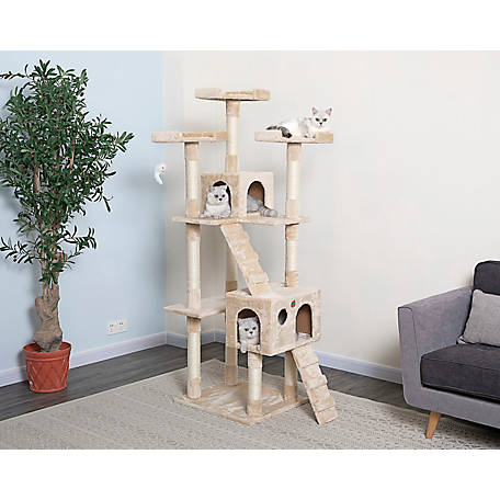 Go Pet Club 72 in. Cat Tree Condo, F2080