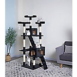Go Pet Club 72' Black Cat Tree Condo Furniture