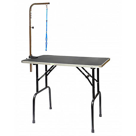 Go Pet Club 42' Pet Dog Grooming Table with Arm