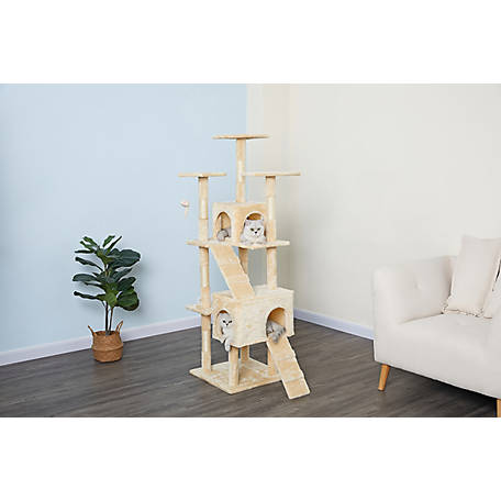 Go Pet Club 63 in. Economical Cat Tree, HC-001
