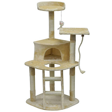 Go Pet Club Homessity 49-in. Lightweight Cat Tree With Ladder