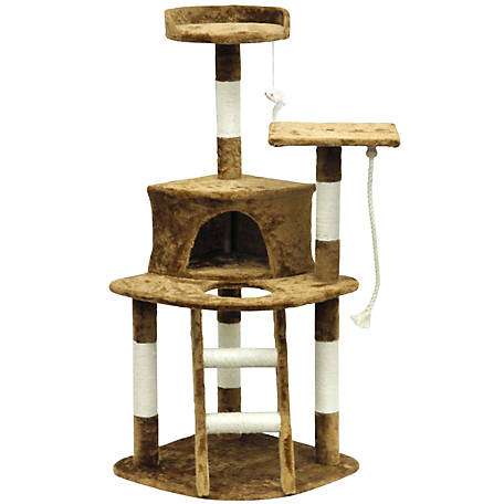 Go Pet Club Homessity Light Weight Economical Cat Tree