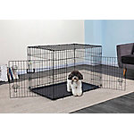 Go Pet Club 42' Metal Dog Crate with Divider