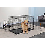 Go Pet Club 48' Metal Dog Crate with Divider