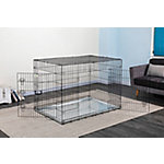 Go Pet Club 54' Metal Dog Crate with Divider