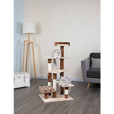 Go Pet Club IQ Busy Box Cat Tree House Toy Condo Pet Furniture