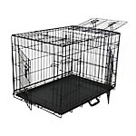 Go Pet Club 48' Three-Door Metal Dog Crate with Divider