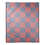 Designs Direct American Buffalo Check 50 in. x 60 in. Coral Fleece Blanket