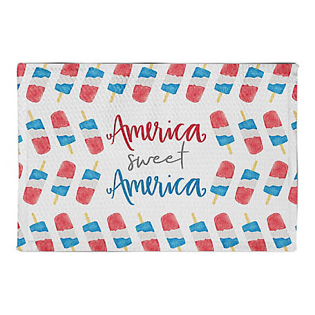 Designs Direct America Sweet America 2 ft. x 3 ft. Area Rug