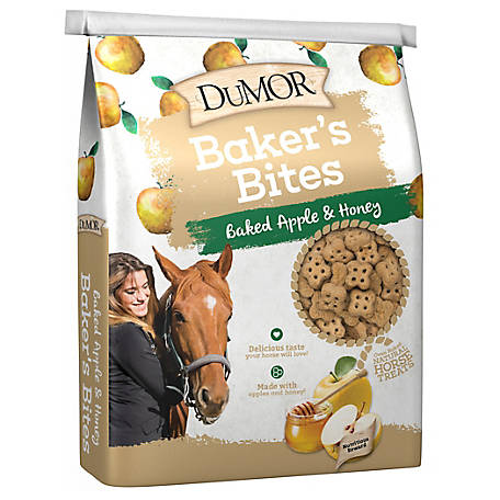 DuMOR Baked Apple & Honey Horse Treats, 20 lb.