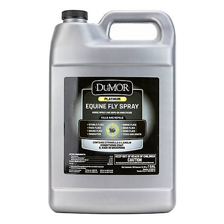 DuMOR Platinum Equine Fly Spray 1 gal., 1597010-19