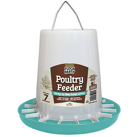 Flock Party Feeder Chick 7 lb. Seafoam, 1030298