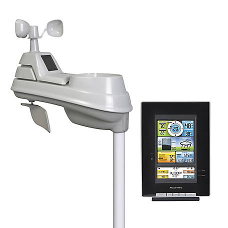 AcuRite AcuRite Pro Color Weather Station with Forecast / Temperature / Humidity / Wind / Rain 00502