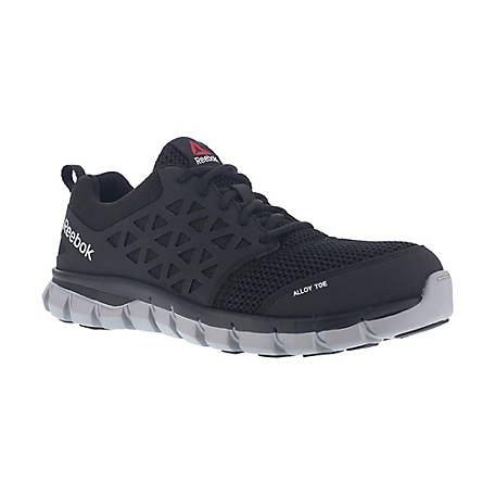 e27c319a036e46 Reebok Work RB4041 Sublite Cushion Work EH SR Alloy Toe Athletic Oxford