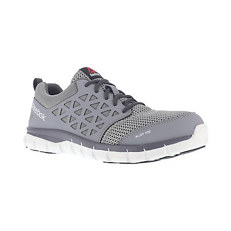 Reebok Work RB4042 Sublite Cushion Work EH SR Alloy Toe Athletic Oxford