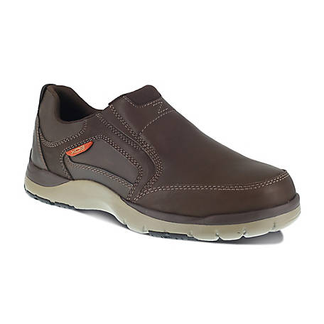 Rockport Works Rockport Works RK6675 Kingstin Work Steel Toe ESD SR Slip On Oxford