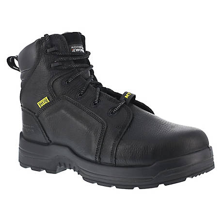 Rockport Works Rockport Works RK6465 More Energy EH Internal Met Guard Composite Toe 6 in. Work Boot
