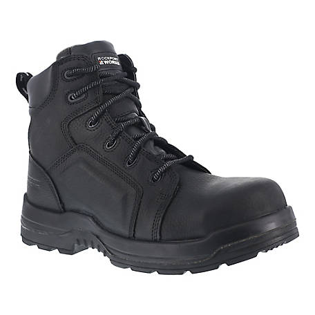 Rockport Works Rockport Works RK6635 More Energy EH Composite Toe 6 in. Waterproof Work Boot