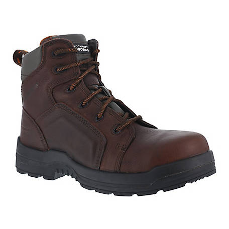 Rockport Works Rockport Works RK6640 More Energy EH Composite Toe 6 in. Waterproof Work Boot