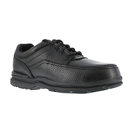 Rockport Works Rockport Works RK6761 World Tour ESD Steel Toe Black Work Oxford ASTM - CSA Approved