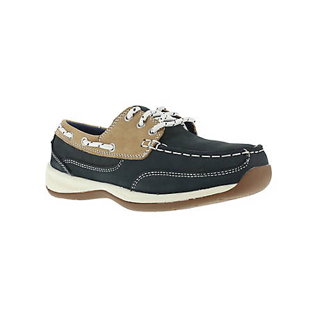 Rockport Works Rockport Works RK670 Sailing Club Women's ESD SR Steel Toe Boat Shoe ASTM - CSA Approved