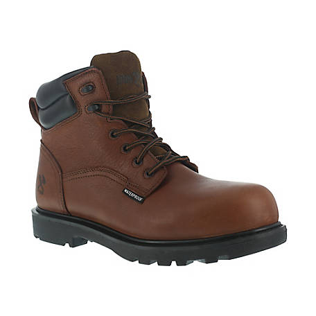 Iron Age IA0160 Hauler Brown 6 in. EH Composite Toe Waterproof Work Boot