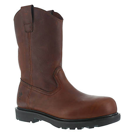 Iron Age IA0194 Hauler Brown 11 in. EH Composite Toe Wellington Work Boot