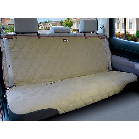 Swell Deluxe Bench Seat Cover Tan At Tractor Supply Co Ibusinesslaw Wood Chair Design Ideas Ibusinesslaworg