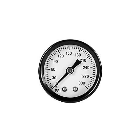 PORTER-CABLE 1.6 in. Pressure Gauge, PXCM032-0056