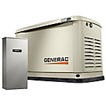 Generac Guardian Series 11/10kW Air-Cooled Standby Generator with Wi-Fi, Alum Enclosure, 200SE (not CUL)