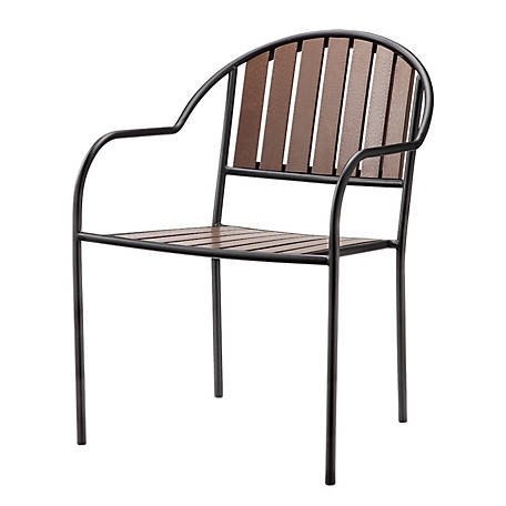 Red Shed Faux Wood Stacking Chair 19367