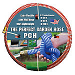 The Perfect Garden Hose .625 in. x 50 ft. Water Hose Red, 001-0101-0600