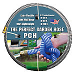 The Perfect Garden Hose .625 in. x 50 ft. Water Hose Gray, 001-0107-0600