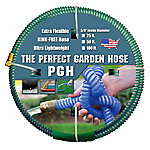 The Perfect Garden Hose .625 in. x 50 ft. Water Hose Green, 001-0109-0600