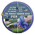 The Perfect Garden Hose .625 in. x 50 ft. Water Hose Blue, 001-0106-0600