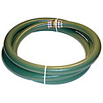 Eagle Green PVC Suction Hose Assembly, 3 in. x 20 ft. Coupled MxF Watershanks, 50 PSI, -10 - 140 deg. F