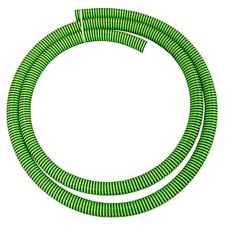Eagle Green/Black EPDM Suction Hose Assembly, 3 in. x 15 ft., 50 PSI , Temperature range: -40 deg. F to 140 deg. F