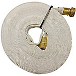 Key Hose Fire 017-FF058-450 Pencil Line Lay Flat Garden Hose 017-FF058-450, 5/8 in. x 50 ft.