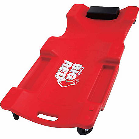 Big Red 40 in. Rugged Plastic Creeper