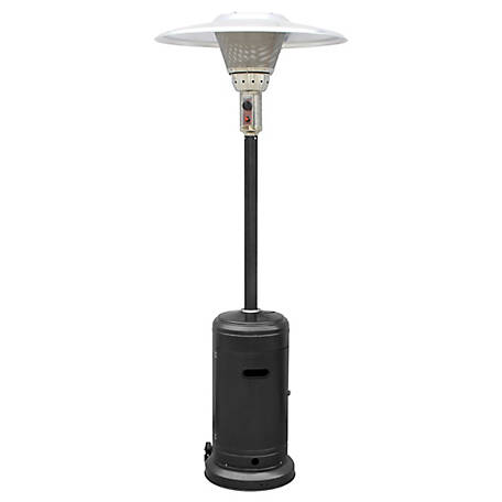 AZ Patio Heaters Commerical Black Patio Heater, GS-2400-BLK